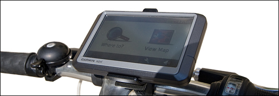DIY GPS bicycle mount